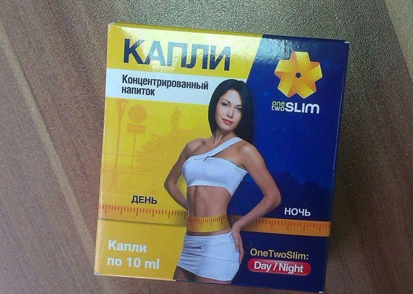 OneTwoSlim капли для похудения в Петропавловске-Камчатском